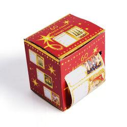 Set 60 etichette natalizie, , large