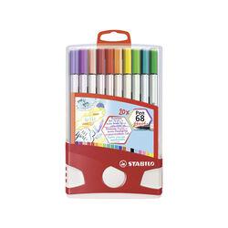 Pennarello Premium con punta a pennello  STABILO Pen 68 brush Colorparade, , large