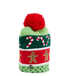 Cappello natalizio con LED - Merry XMas, , large
