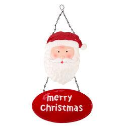 Decorazione natalizia in metallo da appendere, , large