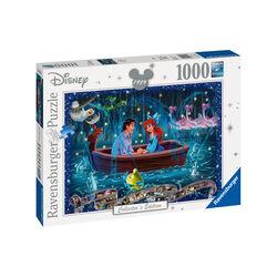 Ravensburger Puzzle 1000 pezzi 19745 - Disney Classic La Sirenetta, , large