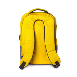 Zaino per laptop linea Pantone - giallo, giallo, large