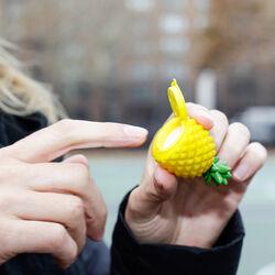 Balsamo per labbra a forma di ananas, , large