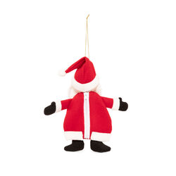 Sacca per dolcetti Babbo Natale, , large