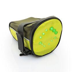 Borsa da sottosella bici con segnali luminosi, , large