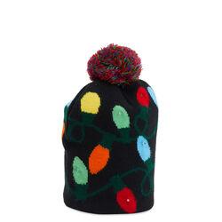 Cappello natalizio con LED - luci Natale, , large