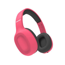 Cuffie stereo Bluetooth wireless linea Pantone - rosa, rosa, large