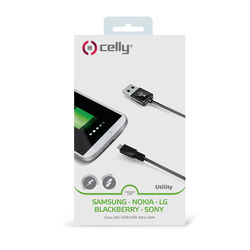 Cavo dati USB/USB Celly - 1 metro, , large