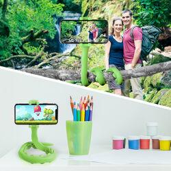Selfie stick flessibile Celly - verde, verde, large