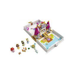 LEGO Disney Princess L'Avventura Fiabesca di Ariel, Belle, Cenerentola e Tiana, 43193, , large