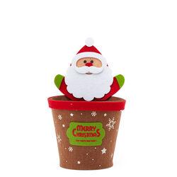 Portavaso natalizio in feltro, , large