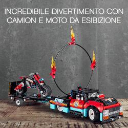 Truck e moto dello Stunt Show 42106, , large