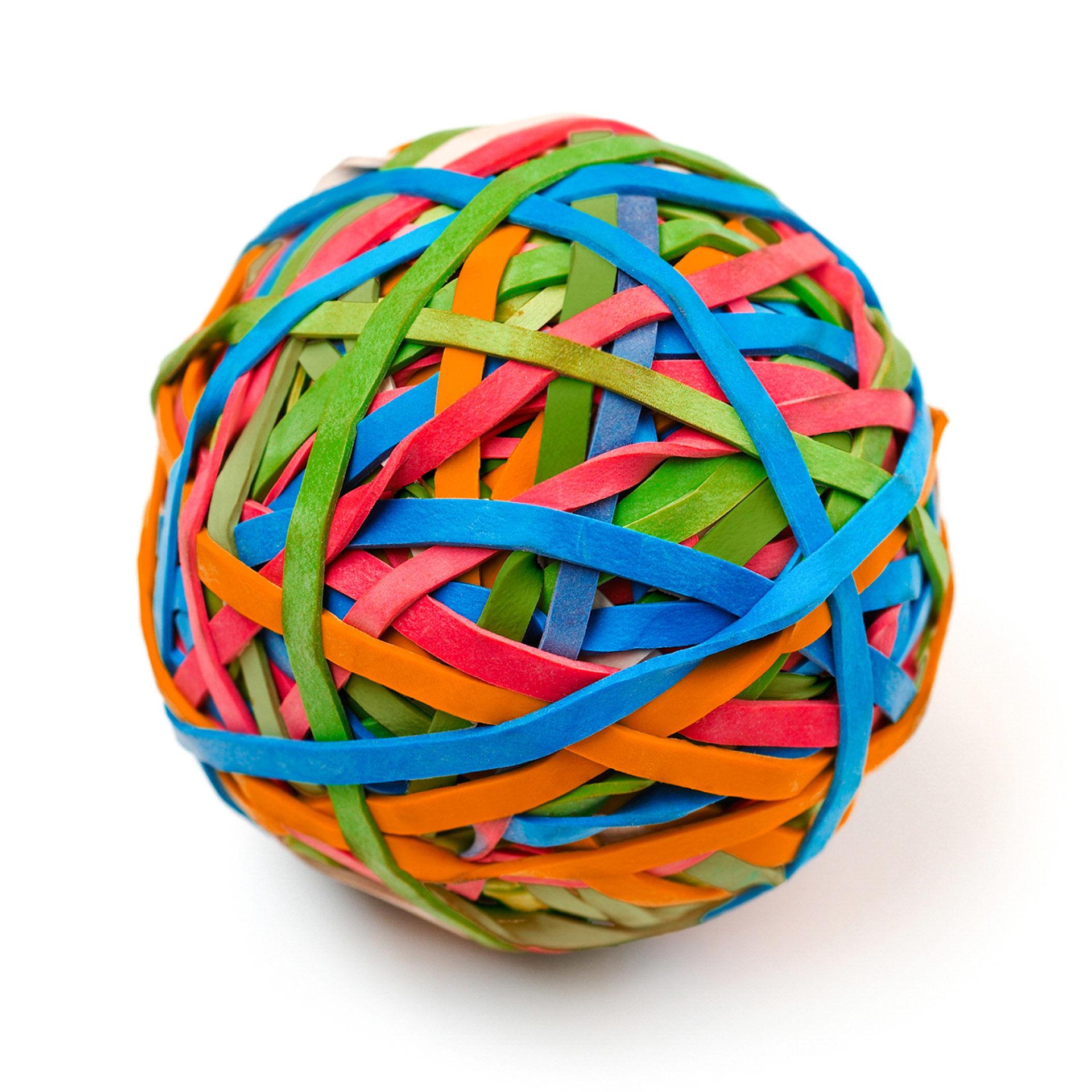 Boule d'élastiques, , large