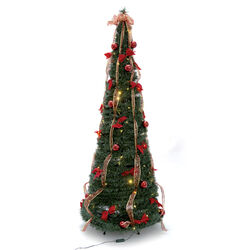 Albero di Natale pop up completo, , large