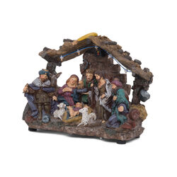 presepe con luci a led, , large