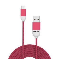 Cavo dati micro USB linea Pantone - rosa, rosa, large
