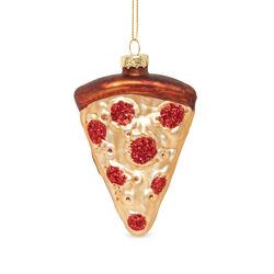 Decorazione in vetro Pizza, , large