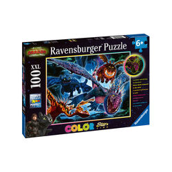 Ravensburger Puzzle 100 pezzi 13710 - Dragons, , large
