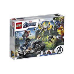 Avengers - Attacco della Speeder Bike 76142, , large