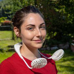 Ventilatore ricaricabile da collo, , large