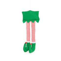 Decorazione maxi gambe elfo, , large
