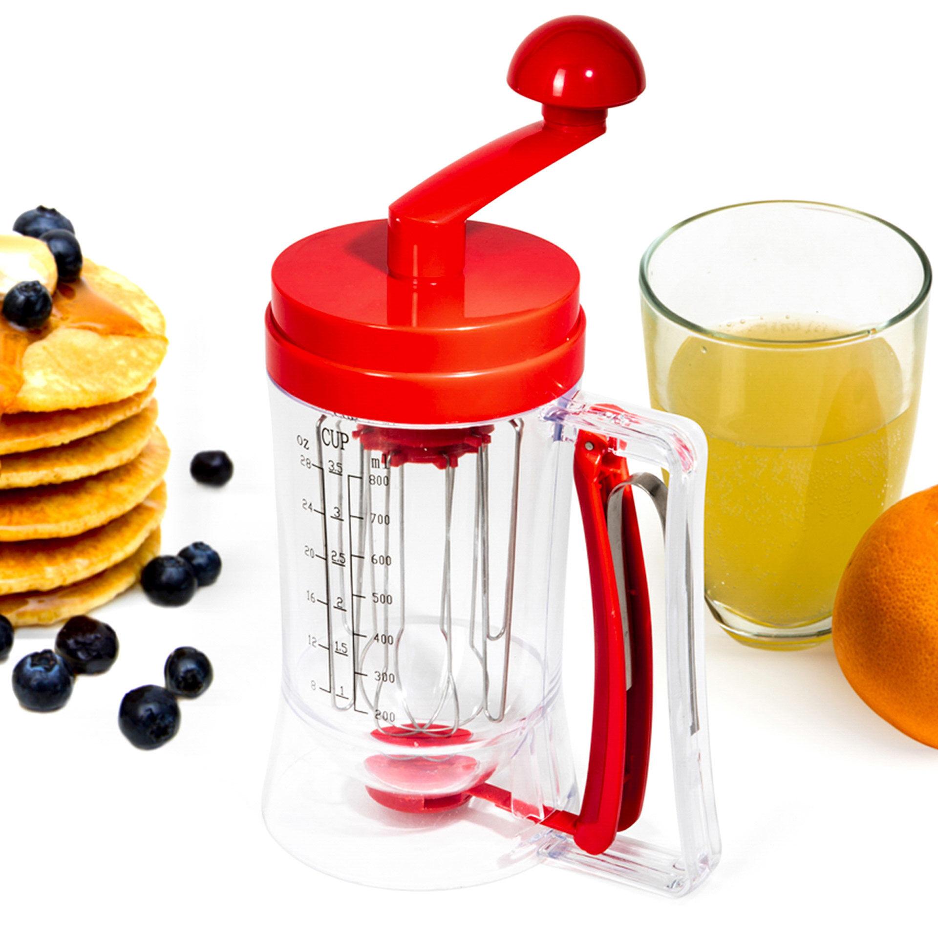 Mixer manuel pour pancakes, , large