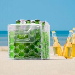 Borsa porta e raffredda bottiglie - Colore verde, verde, large