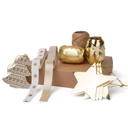 Set accessori per pacchi regalo, , large