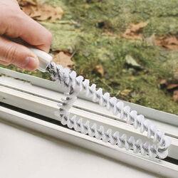 Set 2 spazzole speciali per porte e finestre, , large