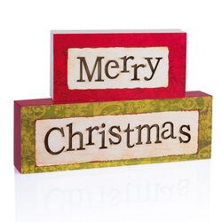 Blocchi Merry Christmas, , large