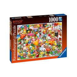 Ravensburger Puzzle 1000 pezzi 15984 - EMOJI, , large