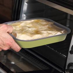 Teglia quadrata da forno, , large