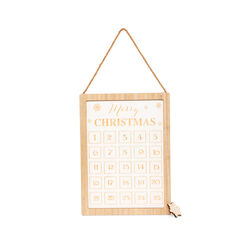 Calendario avvento con lavagna, , large