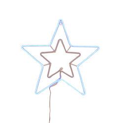 Doppia stella luminosa da esterno, , large