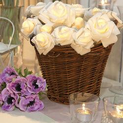 Rose bianche luminose, , large