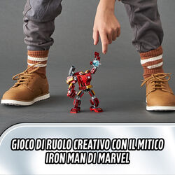 Mech Iron Man 76140, , large