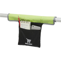Copri maniglia antibatterico per carrello spesa, , large