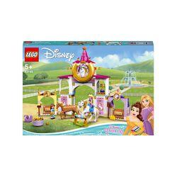 LEGO Disney Princess Le Scuderie Reali di Belle e Rapunzel, Set da Costruzione c 43195, , large