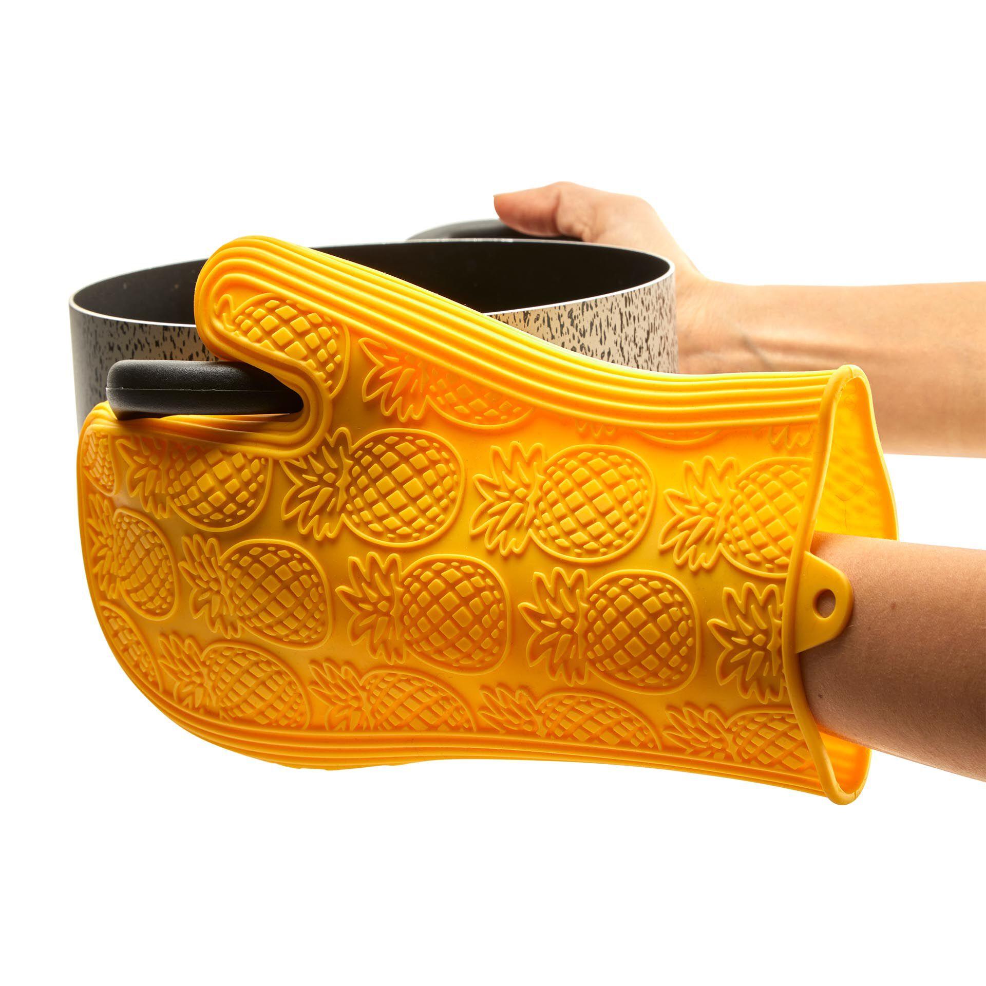 Gant de four en silicone, , large