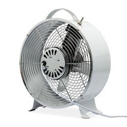 Ventilatore retrò in metallo da tavolo, , large