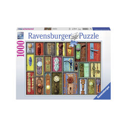 Ravensburger Puzzle 1000 pezzi 19863 - Antiche Maniglie, , large