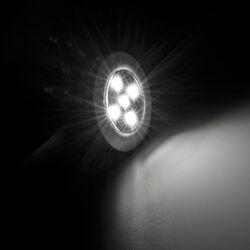 Set 3 luci ultra luminose con telecomando, , large