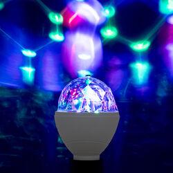Lampadina multicolore con telecomando, , large