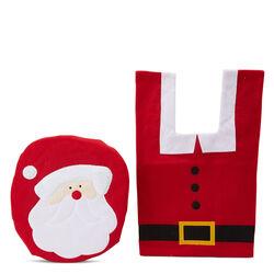 Set da bagno natalizio Babbo Natale, , large