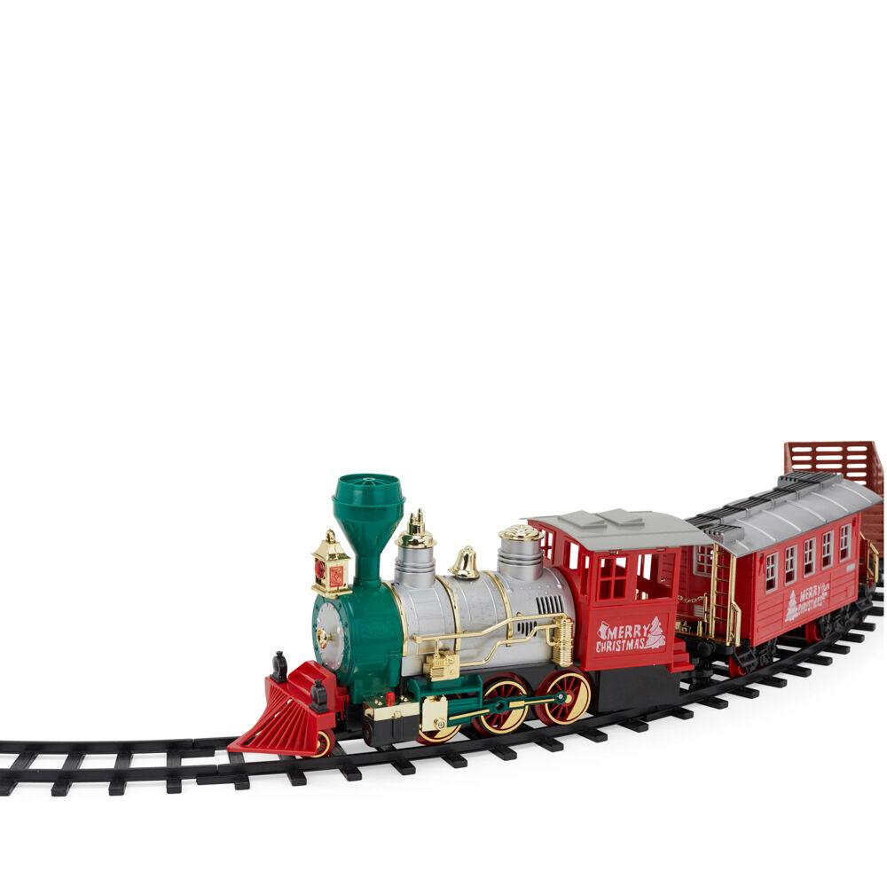 Petit train jouet alimenté à piles, , large