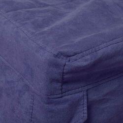 Copertura per pouf letto singolo colore Blu, blu, large