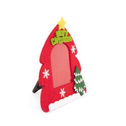 Cornice portafoto albero di Natale - Rosso, rosso, large