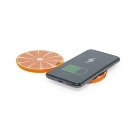 Caricatore wireless doppio 20W, arance, , large
