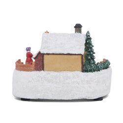Villaggio di Natale luminoso, , large
