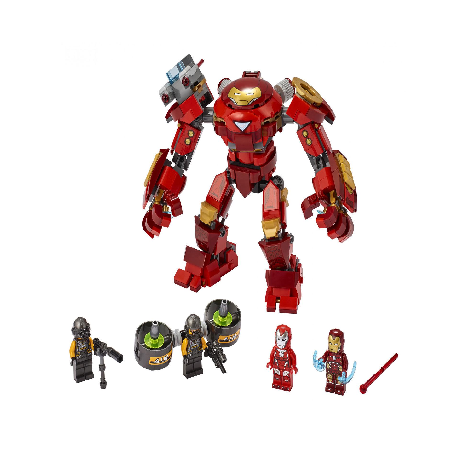 Iron Man Hulkbuster contre un agent de l'A.I.M. 76164, , large